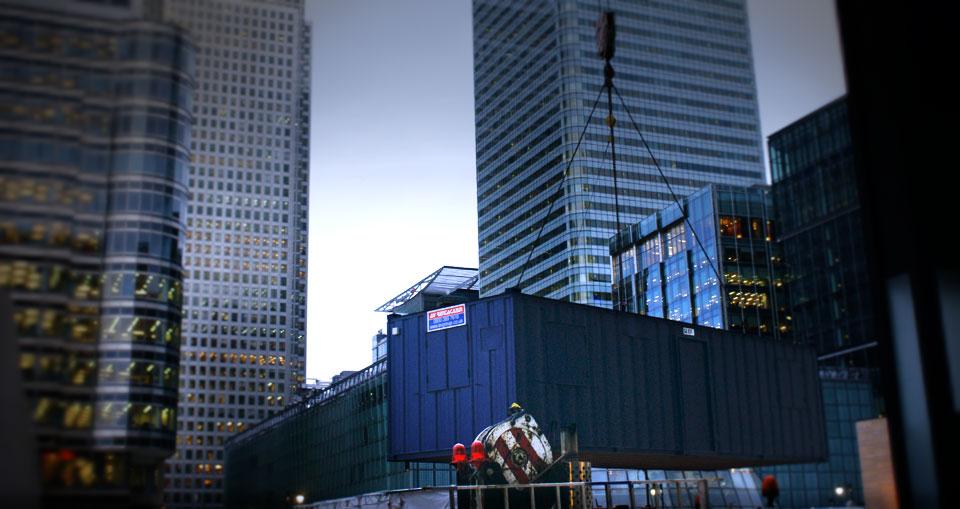 AV Danzer - Canary Wharf - London
