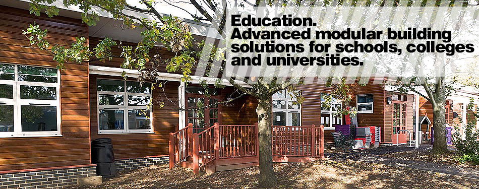 Advanced modular buildings solutions for education, schools, universities and colleges