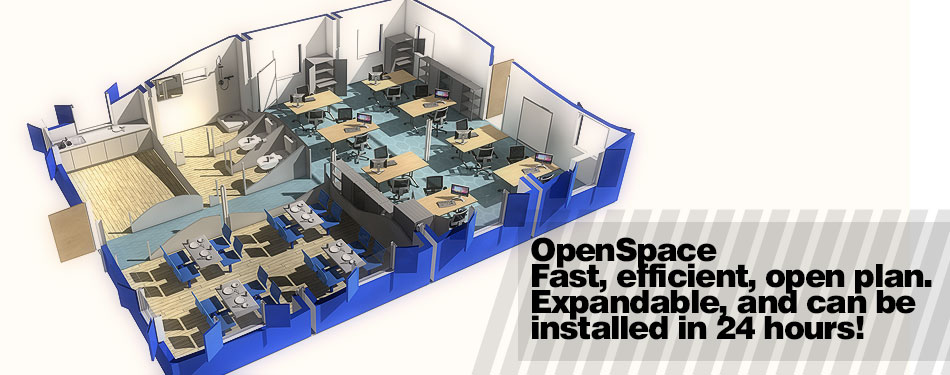 OpenSpace open plan modular buildings
