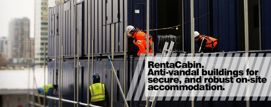 RentaCabin anti-vandal secure steel buildings