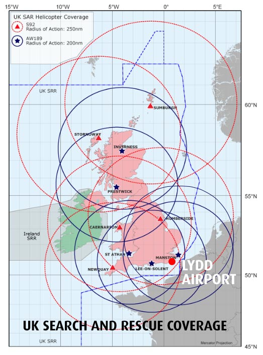 UK SAR Coverage