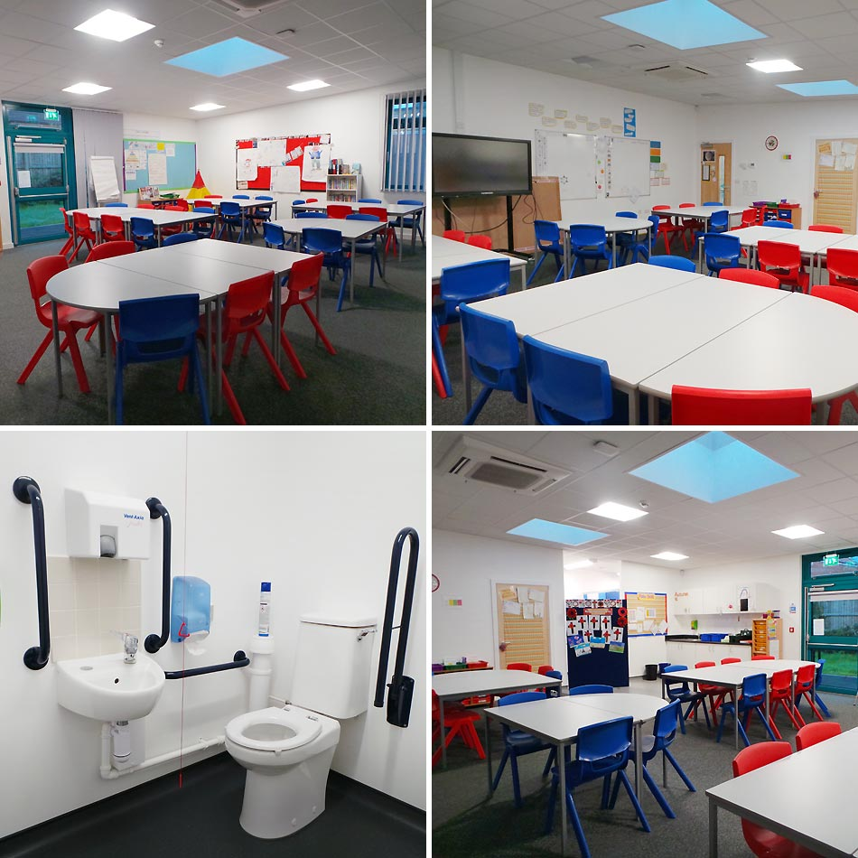 Costock Primary School Nottingham AV Group Danzer