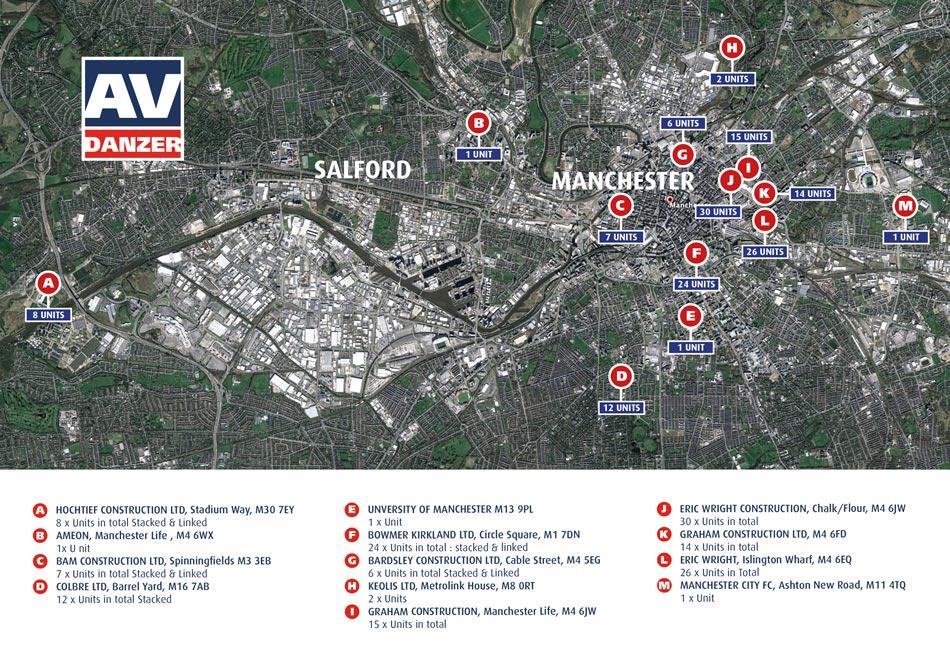 Manchester Construction Sites AV Danzer
