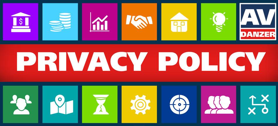 AV DANZER Privacy Policy GDPR