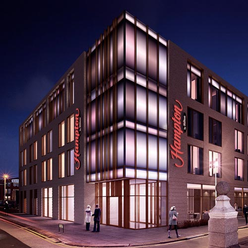 Hilton Hotels Company: Building New Hotels Across The North